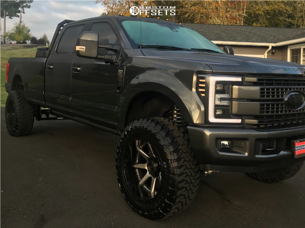 2019 Ford F 350 Super Duty Fuel Rampage Bds Suspension Suspension Lift 45in | Custom Offsets