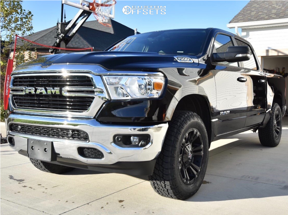 2019 Ram 1500 Xd Xd822 Fabtech Leveling Kit Custom Offsets