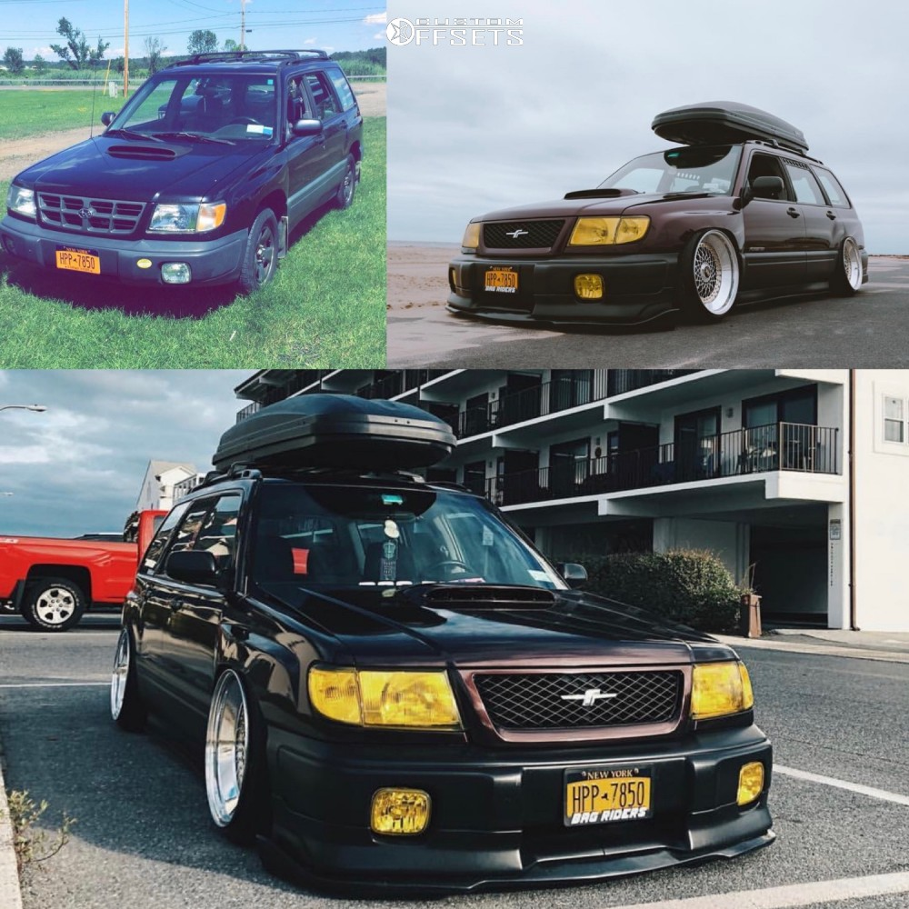 14 2000 Forester Subaru L Raceland Air Suspension Bbs Rs Custom