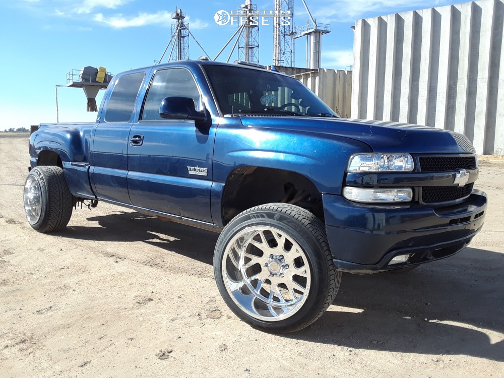 1 2000 Silverado 1500 Chevrolet Cst Suspension Lift 6in Gear Forged F71p1 Polished