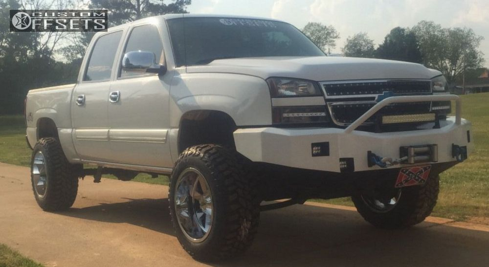 2007 Chevrolet Silverado 1500 Classic Moto Metal Mo962 Rough Country ...