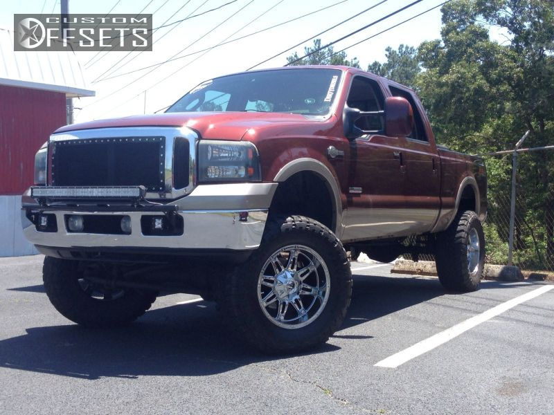 2005 ford f 250 super duty fuel hostage rough country suspension lift 6in. Black Bedroom Furniture Sets. Home Design Ideas