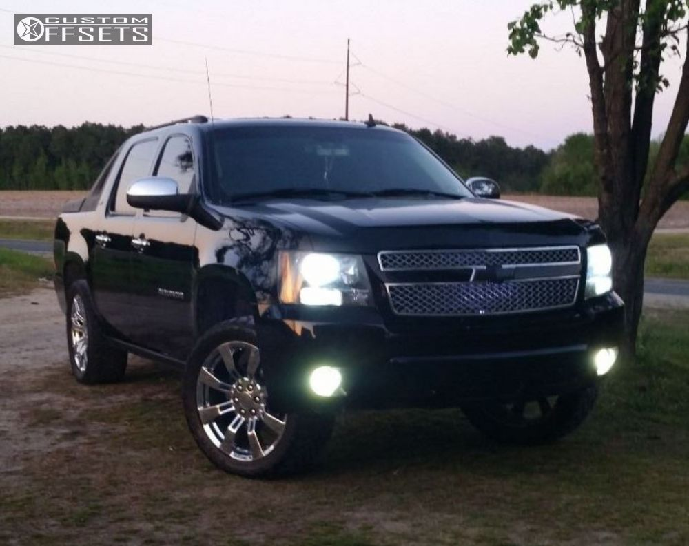 2008 chevrolet avalanche oe performance 144 rough country. Black Bedroom Furniture Sets. Home Design Ideas