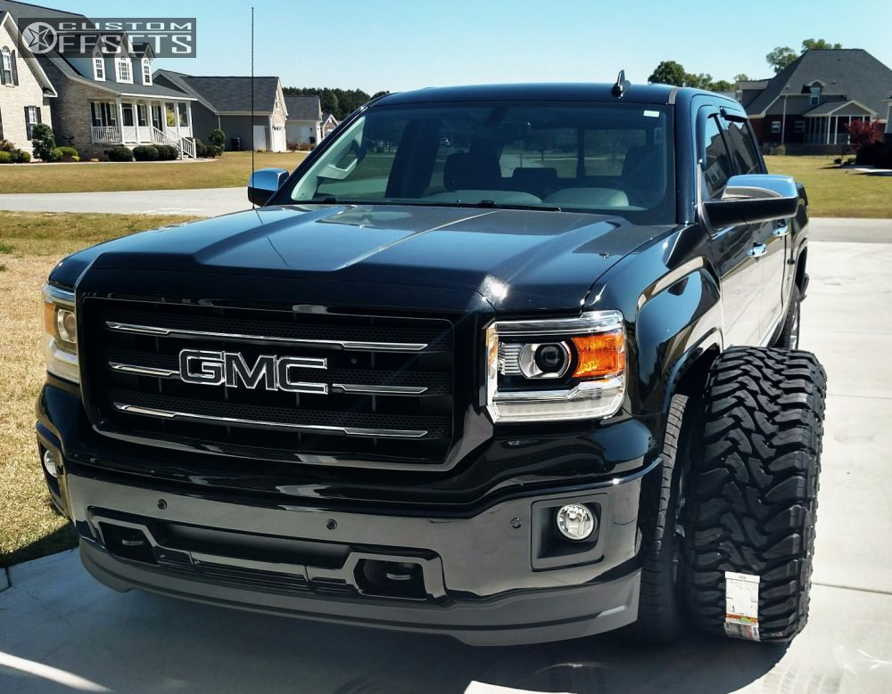 2015 gmc sierra 1500 fuel maverick lifted 9in - 2015 gmc sierra interior accessories ...