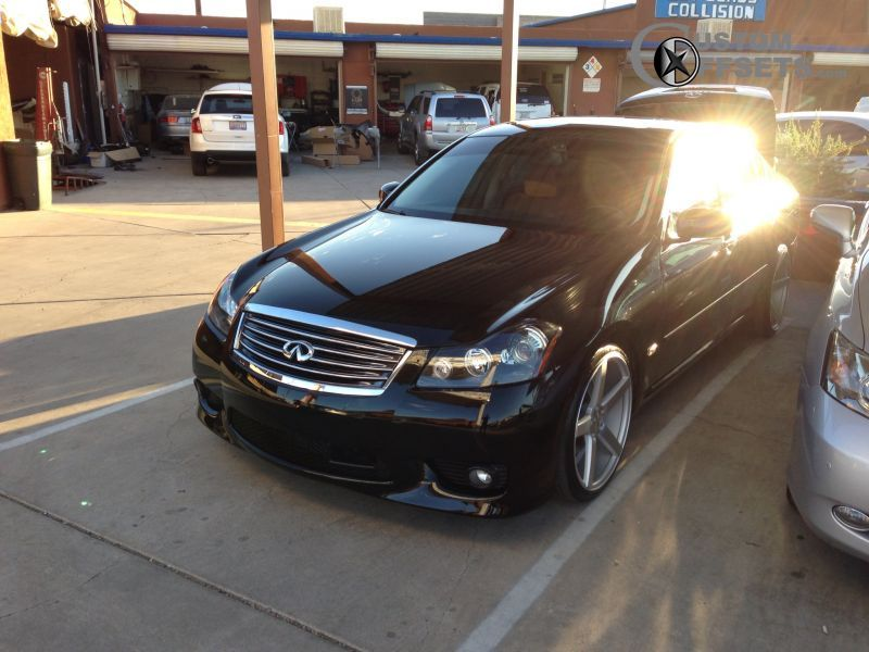 2006 Infiniti M35 Vossen Cv3 Generic Lowered On Springs