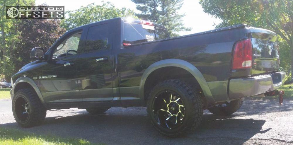10 2012 Ram 1500 Dodge Leveling Kit Vision Prowler Black