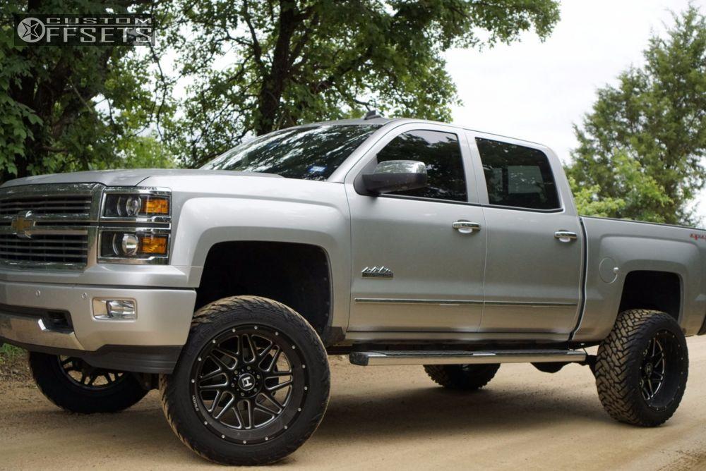 15 2014 Silverado 1500 Chevrolet Suspension Lift 6 Hostile Sprocket Black Aggressive 1 Outside Fender
