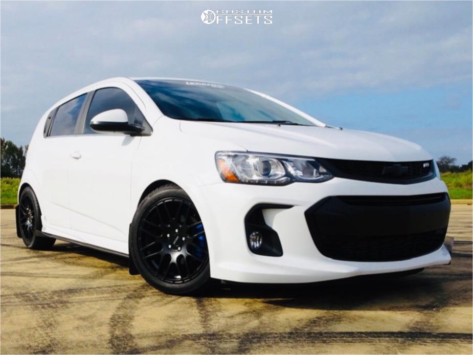 Chevy Sonic Custom >> 2018 Chevrolet Sonic Petrol P6a Zzperformance Lowering