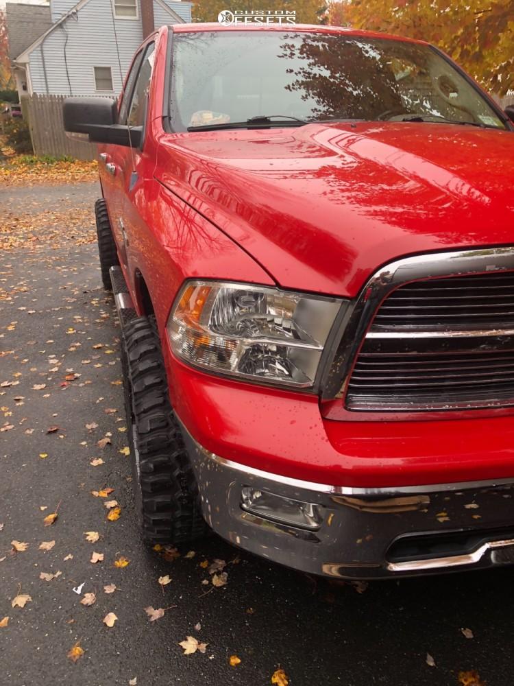 1 2010 Ram 1500 Dodge Tuff Country Leveling Kit Moto Metal Mo970 Black