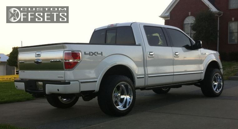 Wheel Offset 2011 Ford F 150 Super Aggressive 3 5 Leveling