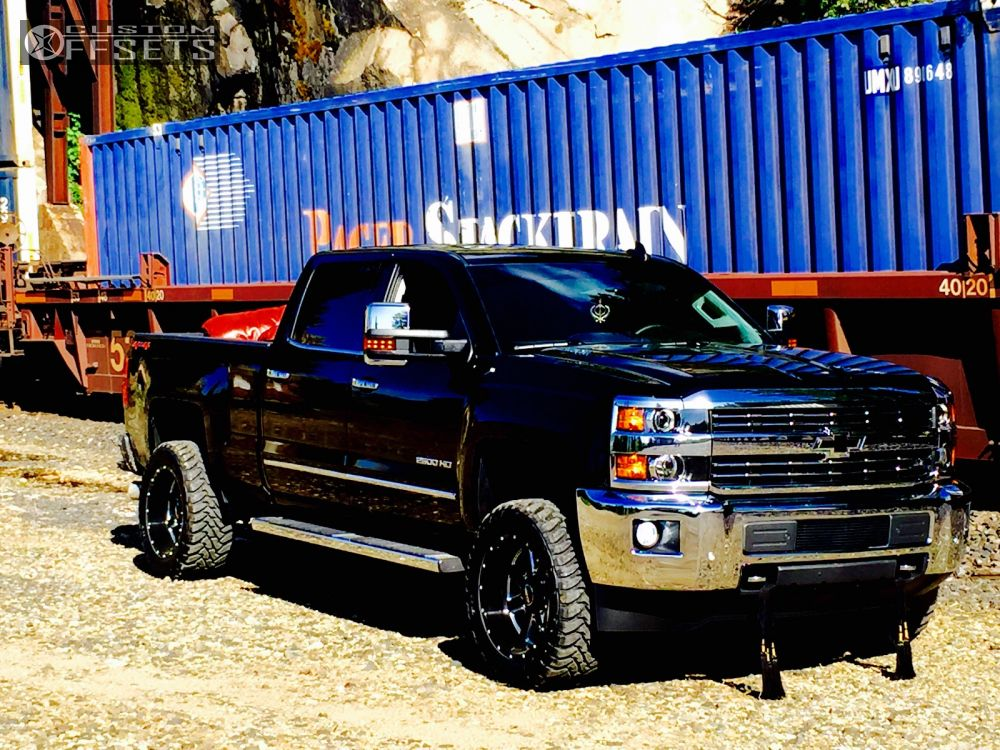 Chevy Silverado Custom Wheels >> 2016 Chevrolet Silverado 2500 Hd Sota Awol Oem Stock