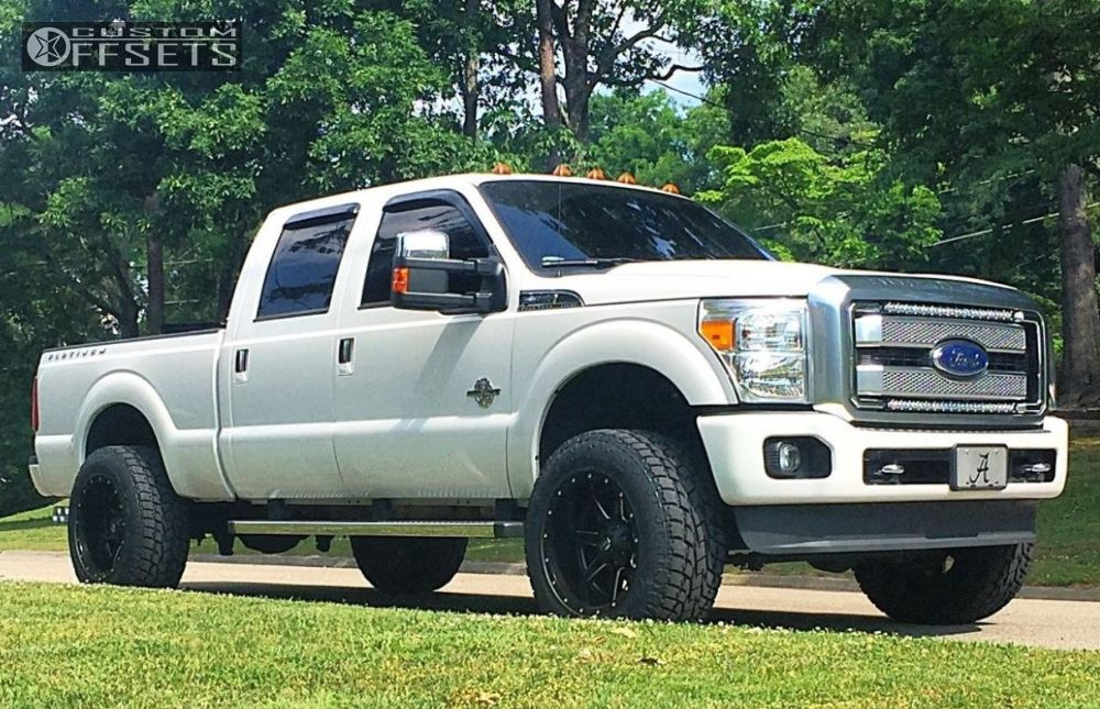 2013 Ford F 350 Super Duty Fuel 538 Readylift Leveling Kit
