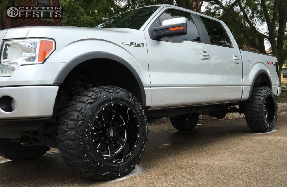 2010 F150 Custom >> 2010 Ford F 150 Moto Metal Mo962 Rough Country Suspension Lift 6in