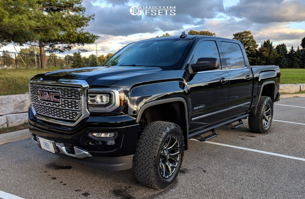 2018 Gmc Sierra 1500 Fuel Warrior Rough Country Suspension