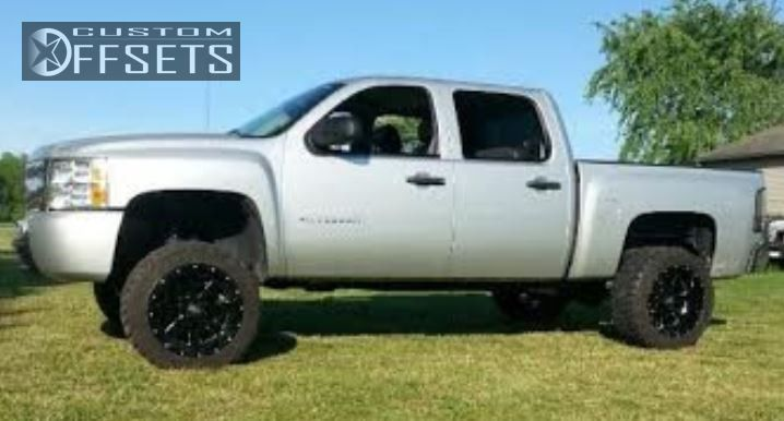 1 2010 Silverado 1500 Chevrolet Suspension Lift 6 Moto Metal Mo962 Black Super Aggressive 3