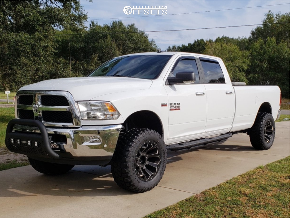 2017 Dodge Ram >> 2017 Dodge Ram 2500 Fuel Assault Southern Truck Leveling Kit