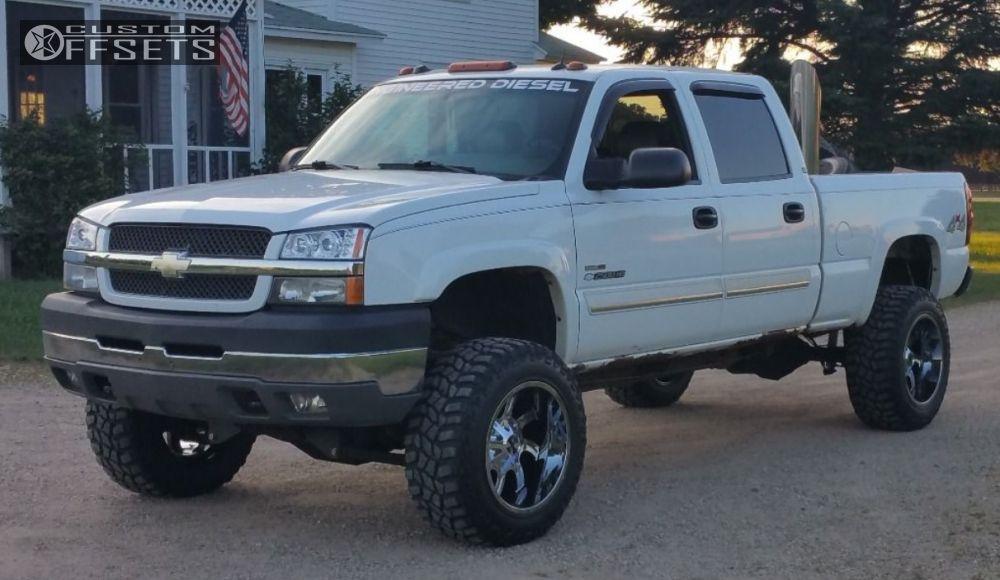 1 2004 Silverado 2500 Hd Chevrolet Suspension Lift 7 Cali Offroad Twisted Pvd Chrome