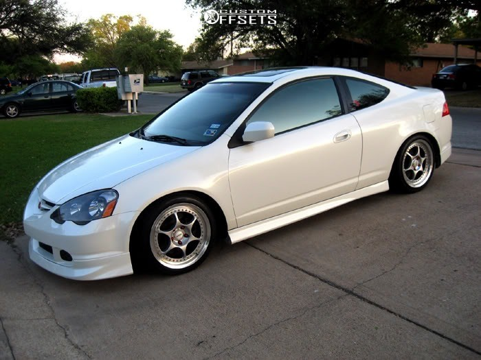 2 2006 Rsx Acura Type S Function And Form Coilovers Cosmis Racing Xt 006r White