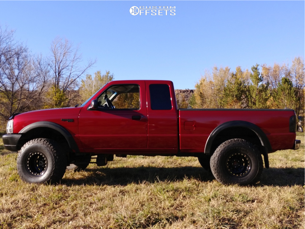1999 Ford Ranger Pro Comp Series 252 Superlift Suspension Lift 4in