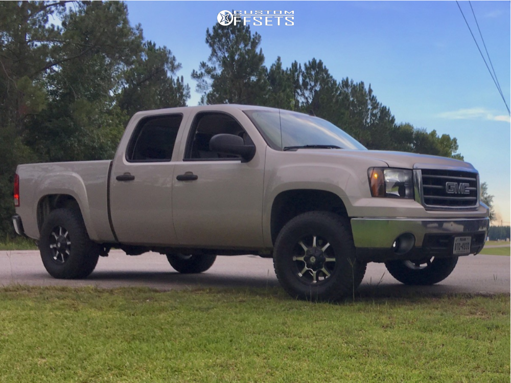 1 2008 Sierra 1500 Gmc Stock Leveling Kit American Outlaw Deputy Machined Accents
