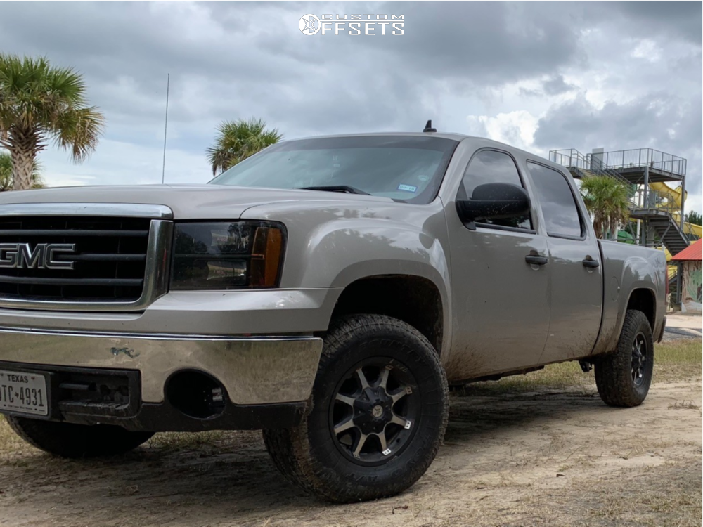 11 2008 Sierra 1500 Gmc Stock Leveling Kit American Outlaw Deputy Machined Accents