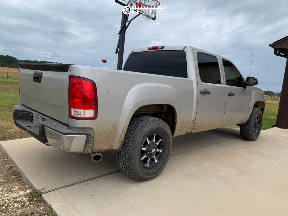 4 2008 Sierra 1500 Gmc Stock Leveling Kit American Outlaw Deputy Machined Accents