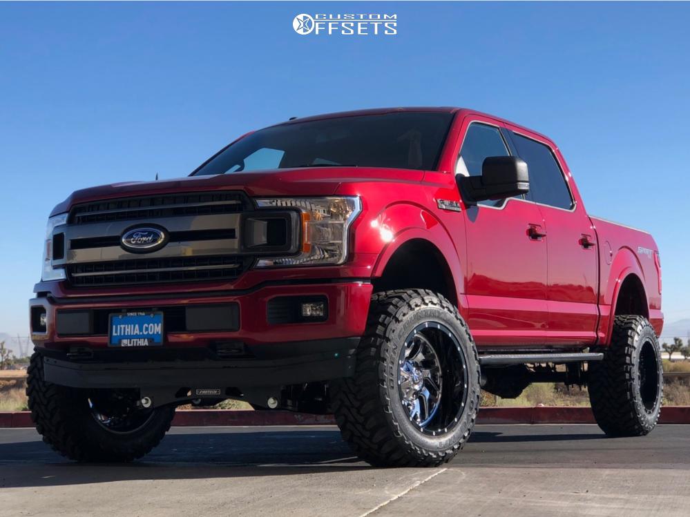 1 2018 F 150 Ford Fabtech Suspension Lift 6in Fuel Triton Custom