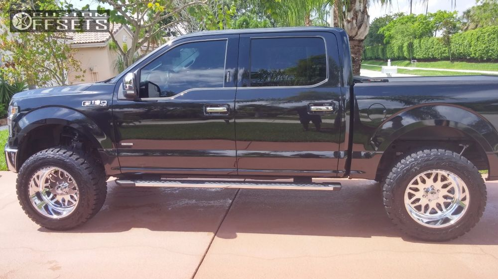 12 2015 F 150 Ford Suspension Lift 6 American Force 1 Polished Aggressive 1 Outside Fender