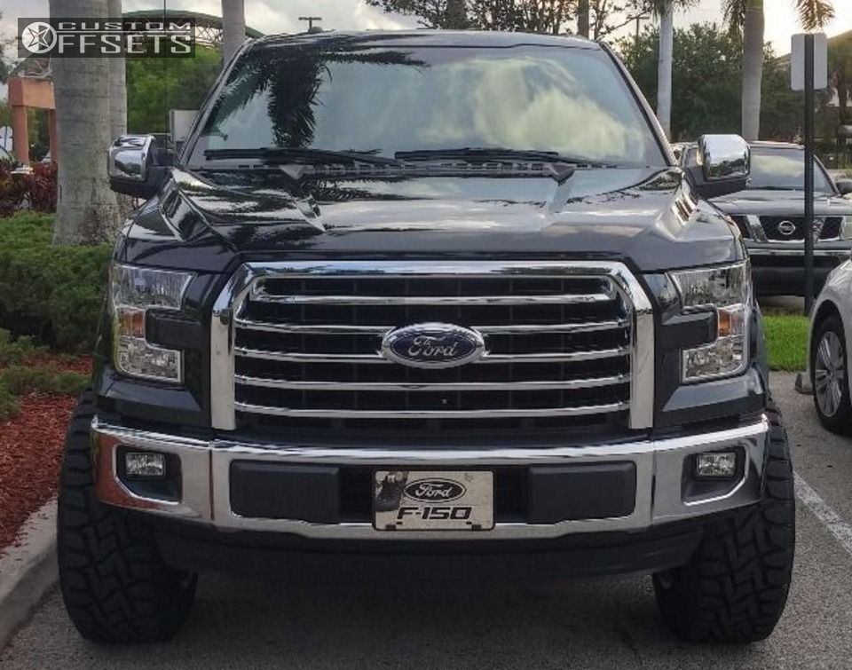 2 2015 F 150 Ford Suspension Lift 6 American Force 1 Polished Aggressive 1 Outside Fender