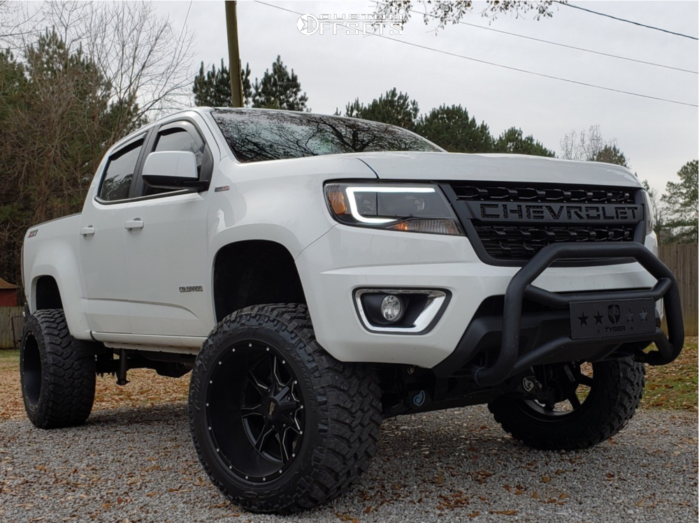 Lifted Chevy Colorado >> 2018 Chevrolet Colorado Moto Metal Mo970 Rough Country