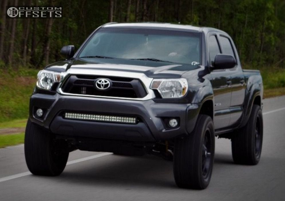 2014 toyota tacoma fuel hostage rough country suspension lift 3in. Black Bedroom Furniture Sets. Home Design Ideas