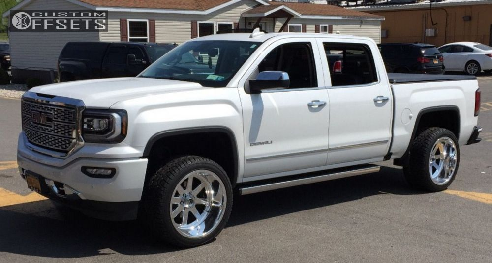 2016 Gmc Sierra 1500 Fuel Ff7 Rough Country Leveling Kit