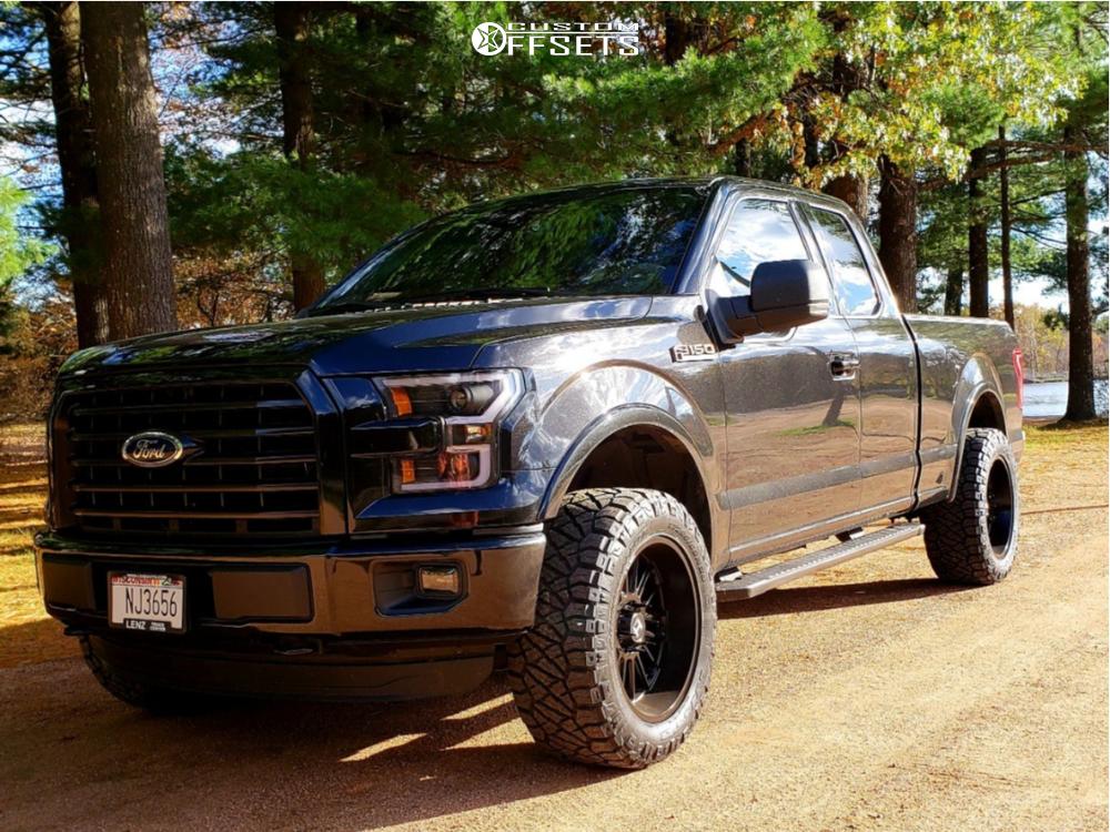 1 2015 F 150 Ford Halo Lift Leveling Kit Hostile Predator Black