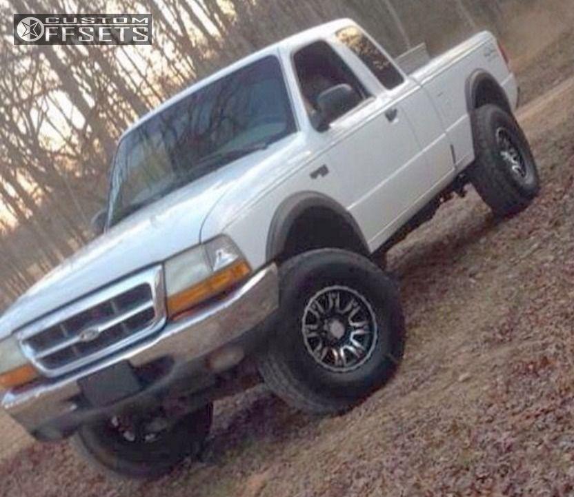 2000 Ford Ranger Super Cab Suspension: Wheel Offset 2000 Ford Ranger Flush Body Lift 3