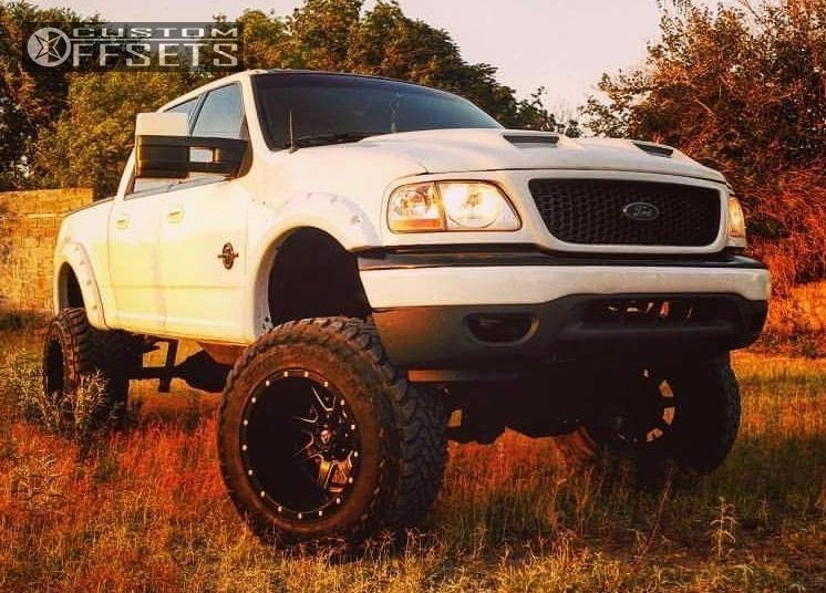 2001 Ford F 150 Fuel Maverick Zone Lifted 9in