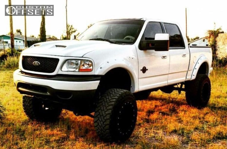 Lifted Ford F150 >> 2001 Ford F 150 Fuel Maverick Zone Lifted 9in