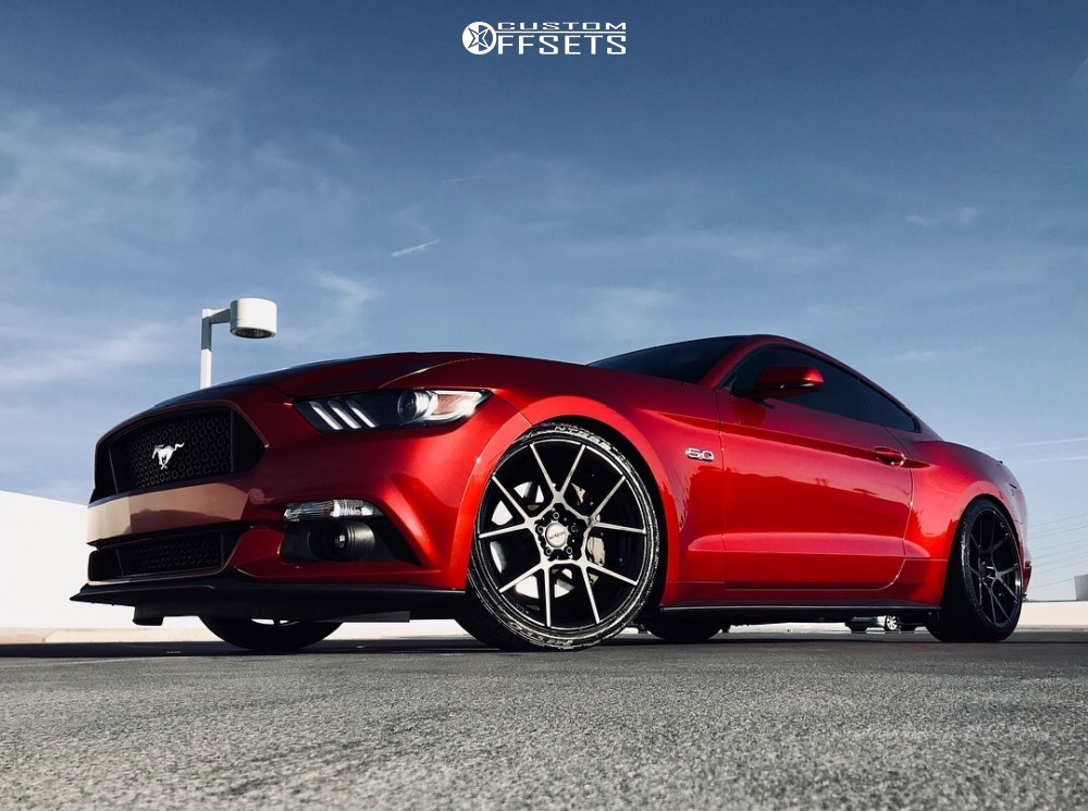 Mustang Ford Gt Eibach Lowering Springs Rotiform Kps Black