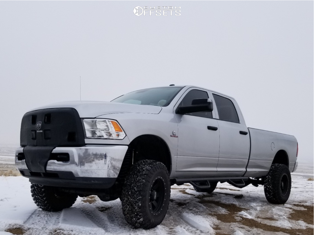 1 2018 3500 Ram Zone Suspension Lift 45in Alloy Ion Style 134 Matte Black