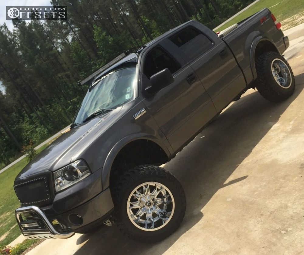 12 2006 F 150 Ford Suspension Lift 6 Tis 535v Chrome Super Aggressive 3 5