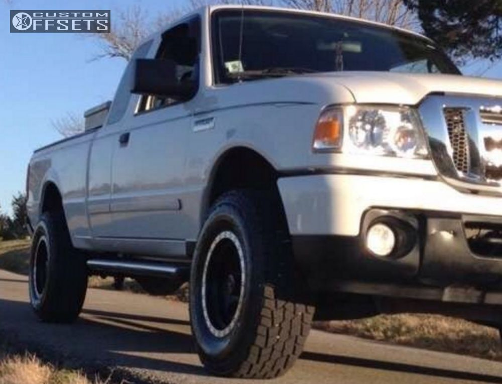 Pro Comp Leveling Kit >> 2008 Ford Ranger Mickey Thompson Classic Baja Lock Pro Comp Leveling Kit