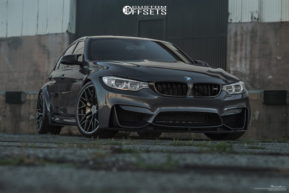 2016 Bmw M3 Brixton Forged Cm10 Kw Suspension Coilovers Custom Offsets