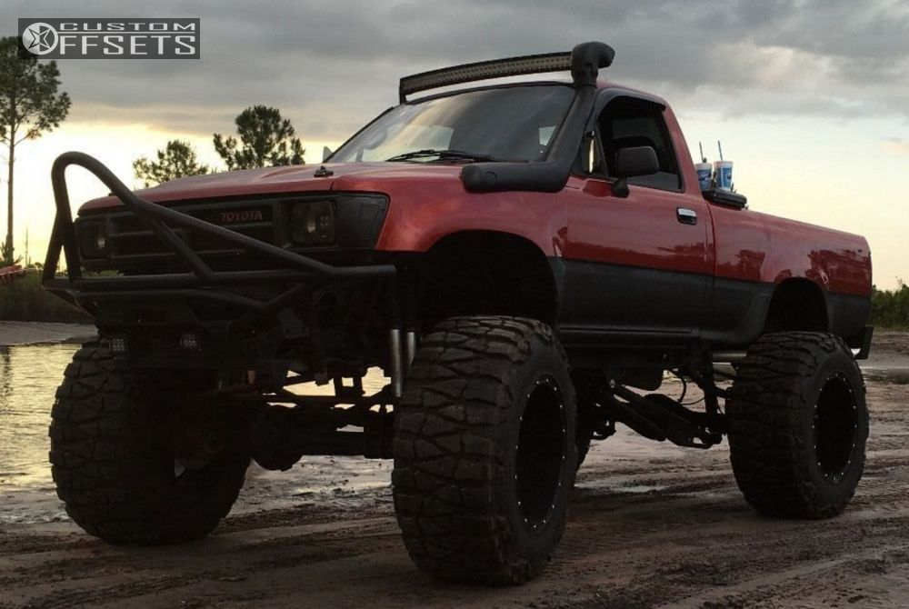 Wheel Offset 1995 Toyota Pickup Hella Stance 5 Lifted 9