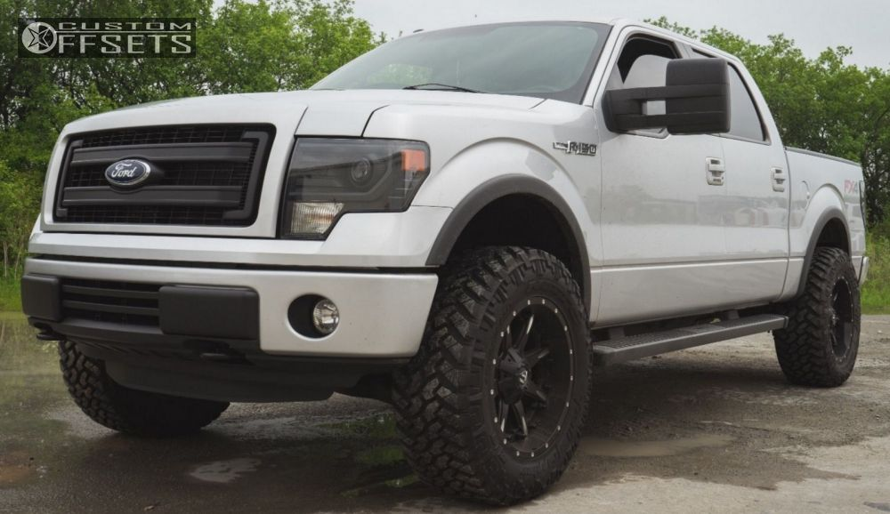 2013 Ford F 150 Fuel Nuts Leveling Kit Custom Offsets