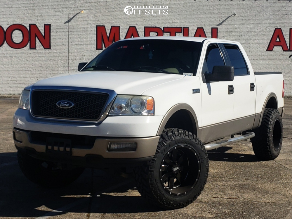 1 2005 F 150 Ford Rough Country Suspension Lift 6in Moto Metal Mo962 Machined Accents