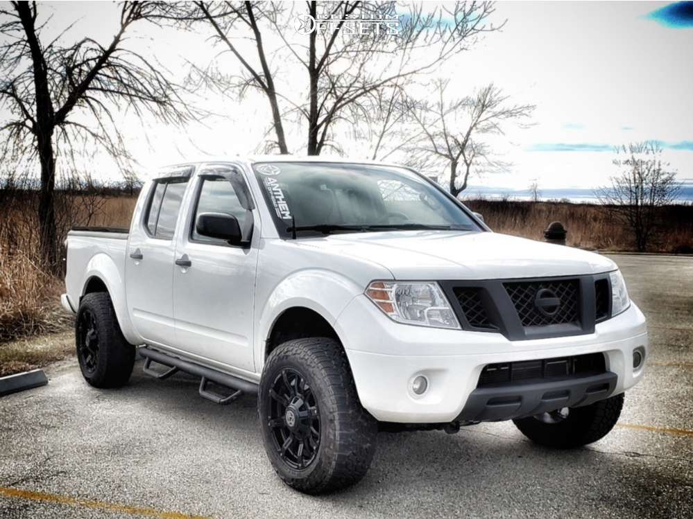 1 2012 Frontier Nissan Bilstein Leveling Kit Anthem Defender Black