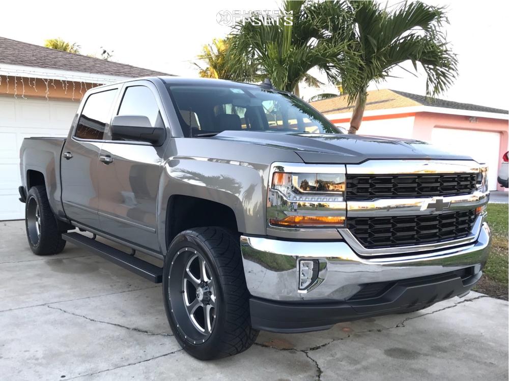 1 2017 Silverado 1500 Chevrolet Stock Stock Hostile Exile Gunmetal