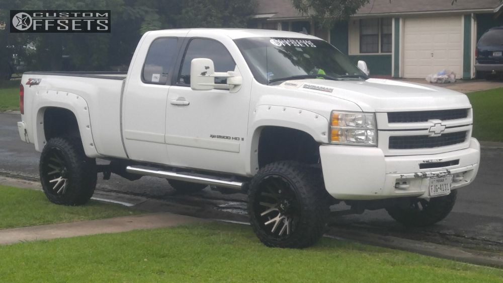1 2008 Silverado 2500 Hd Chevrolet Suspension Lift 6 V Rock Recoil Gunmetal Slightly Aggressive