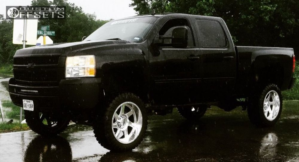 1 2009 Silverado 2500 Hd Chevrolet Suspension Lift 6 Moto Metal Other Chrome Aggressive 1 Outside Fender