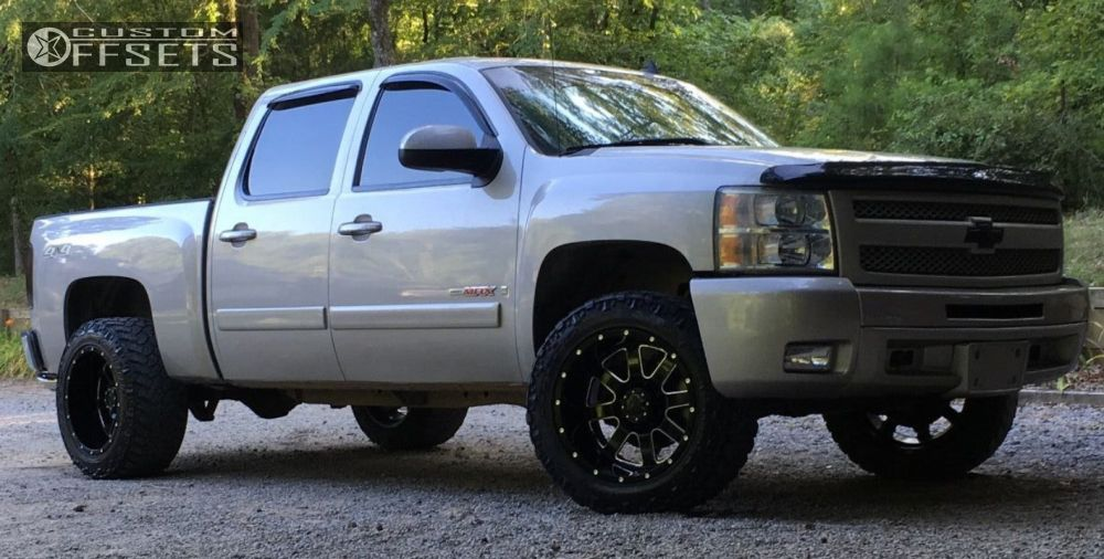 2007 Chevrolet Silverado 1500 Gear Alloy 726 Rough Country
