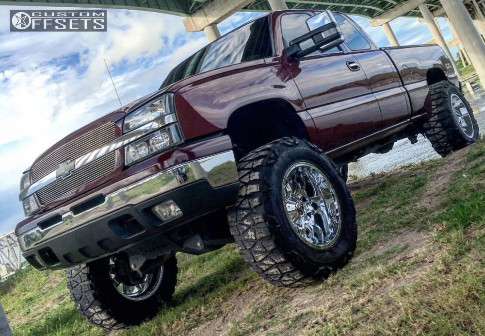 1 2003 Silverado 1500 Chevrolet Suspension Lift 6 Body 3 Tis 535v Chrome Super Aggressive 3 5